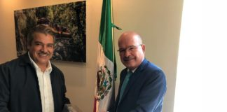 Se reúne Raúl Morón con KCSM