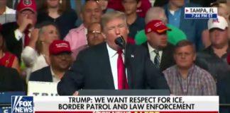 Asegura Trump que inició construcción del muro