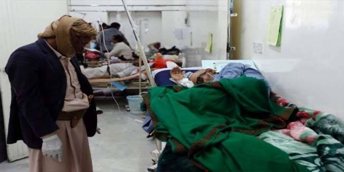 Advierte OMS nuevo brote de cólera en Yemen