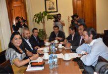 Diputados se solidarizan con damnificados de Peribán