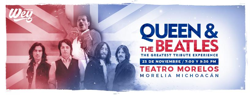 Rendirán tributo a Queen y The Beatles en Morelia