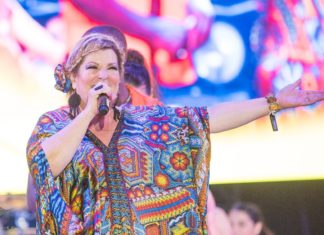 Margarita la Diosa de la cumbia, llega a Morelia