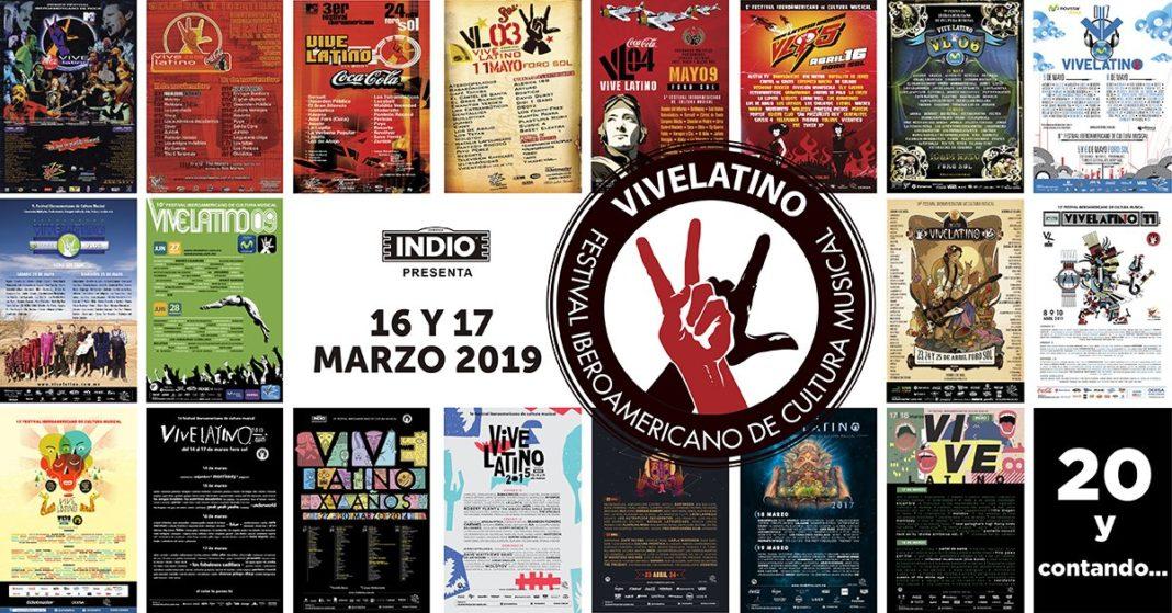 Vive Latino, ya tiene fecha para el 2019