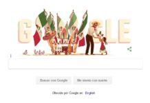 Google se suma a la conmemoración del Día de la Independencia de México