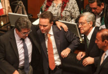 Senado otorga licencia a Manuel Velasco
