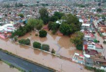 40 colonias de Morelia afectadas por la lluvia; 10 las más dañadas
