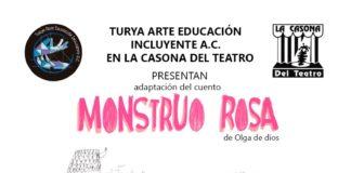 """Turya Arte presenta la obra """"Monstruo Rosa"""""""