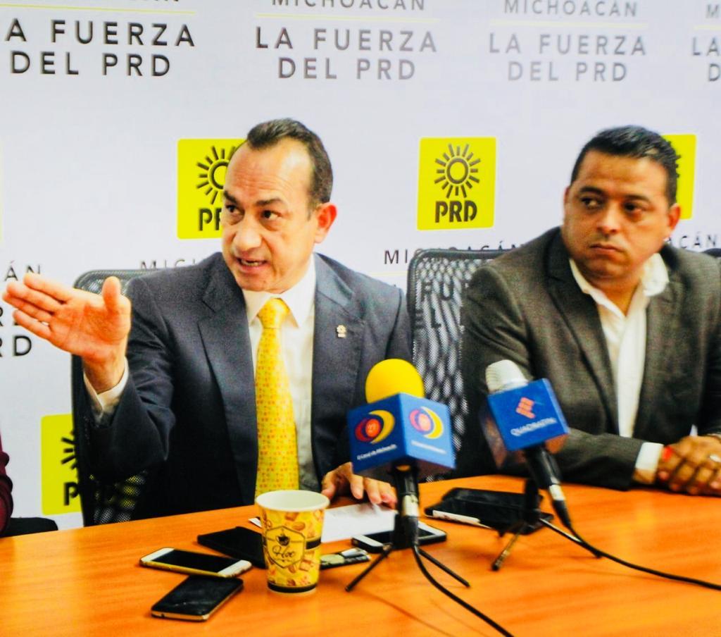 Mensaje de impunidad se manda a políticos corruptos: PRD