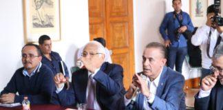 Instala Segob Comité de Evaluación de Daños en Peribán