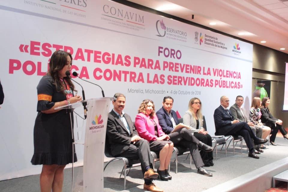 Michoacán sin marco jurídico para sancionar violencia política de género