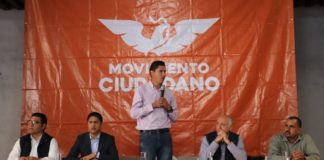 Coordinadora de Movimiento Ciudadano concede licencia a Javier Paredes
