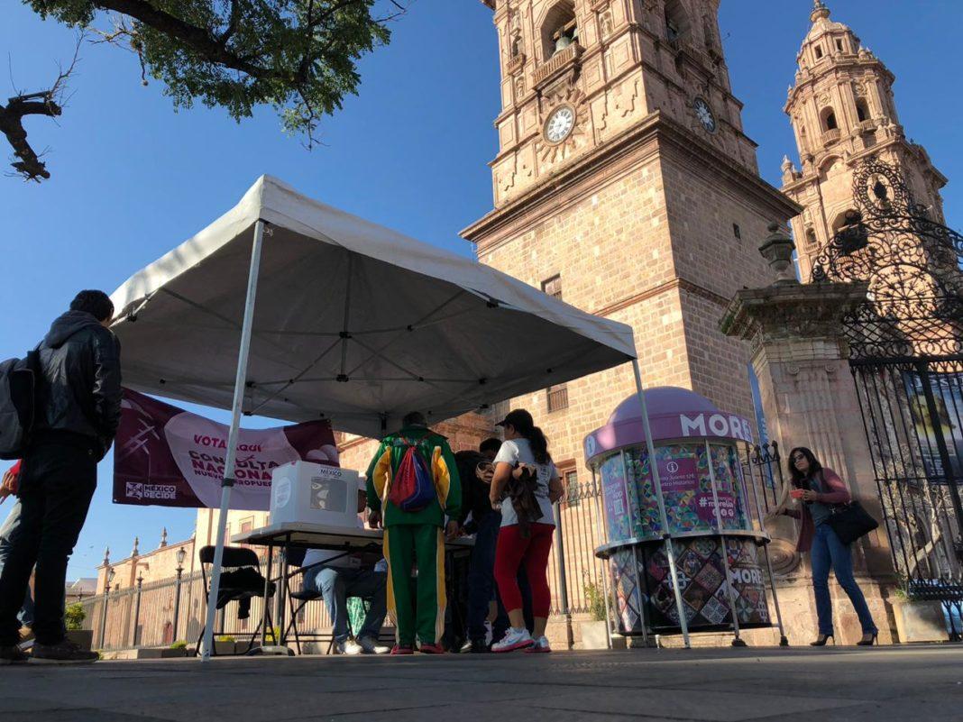 Poca participación de morelianos en Consulta Ciudadana