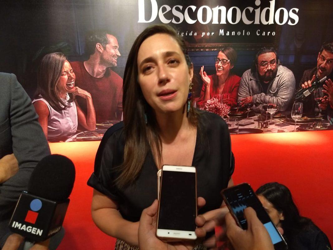 """Mariana Treviño feliz por su participación en """"Club de Cuervos"""""""