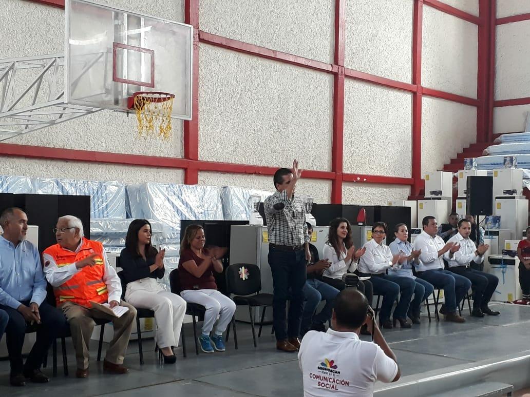Peribán ya cuenta con declaratoria de zona de desastre para acceder al Fonden