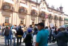 Habitantes de Nahuatzen exigen salida de alcalde