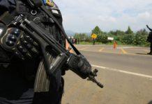 Detienen a nueve con armas de fuego en Uruapan