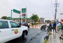 Reportan al menos 27 vialidades inundadas en Morelia