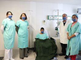 Salvan vida de joven con donación de riñón