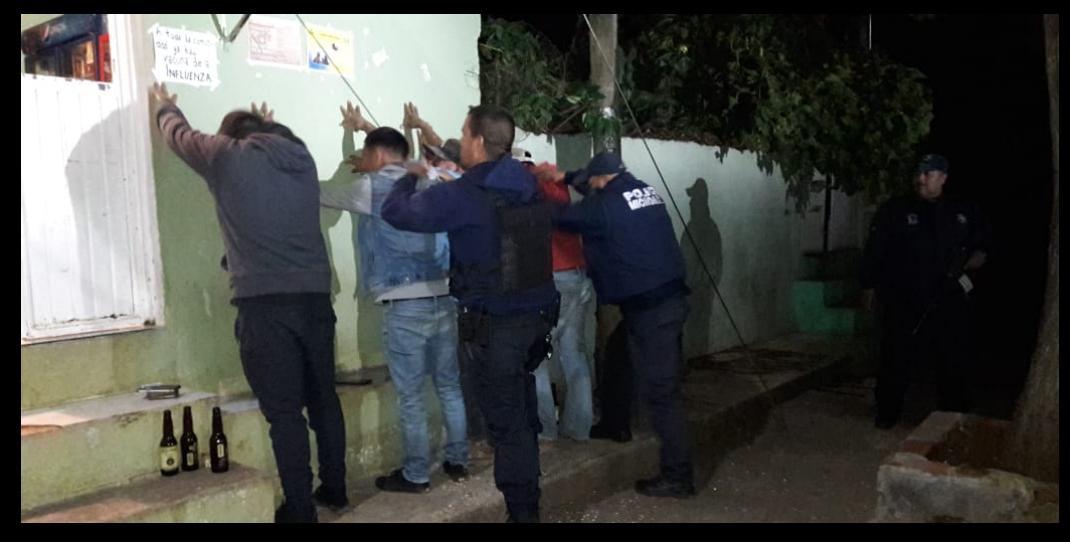 15 detenidos en 48 horas por narcomenudeo, robo, posesión de drogas y abigeato
