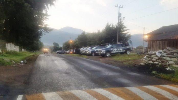 Con operativo de seguridad, pretenden recuperar alcaldía de Nahuatzen