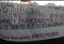Exigen habitantes de Nahuatzen liberación de detenidos