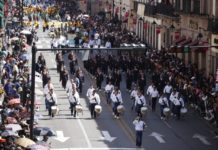 Desfile deportivo de la Revolución Mexicana, cubre expectativas de morelianos