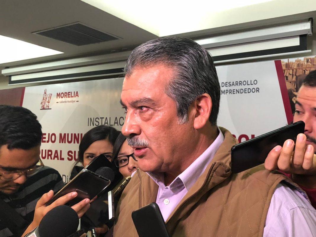 Morón no responderá sobre violencia en Morelia