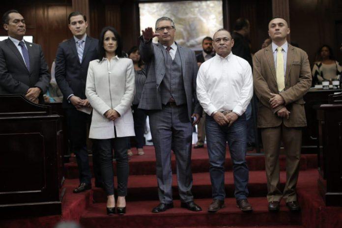 Rafael Tena nuevo vocero del Congreso de Michoacán