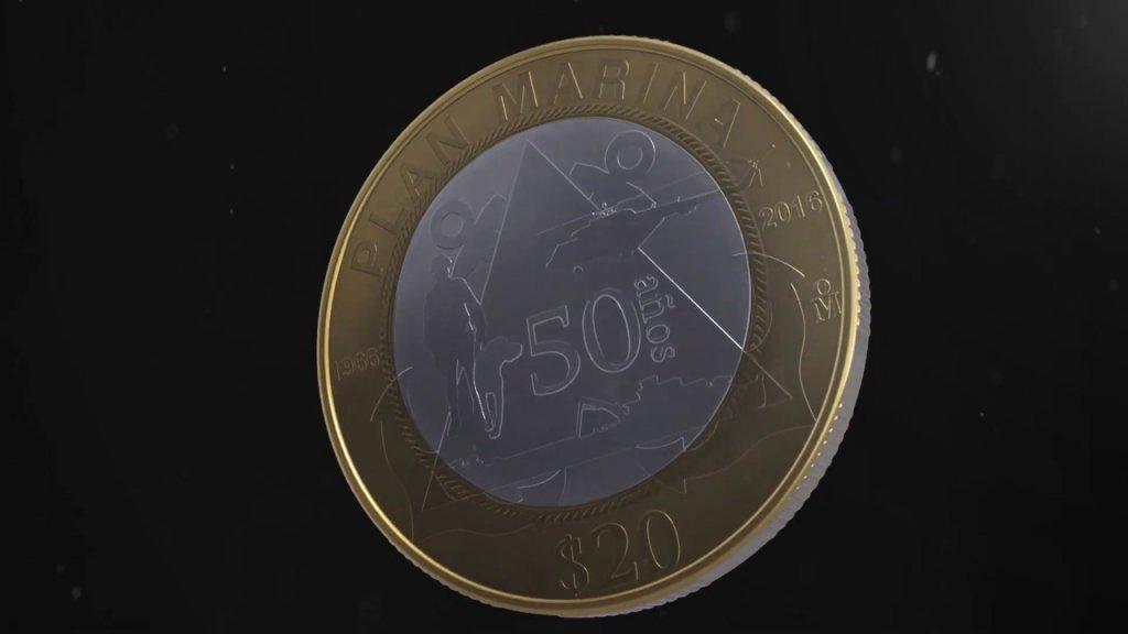 Circula nueva moneda conmemorativa de $20