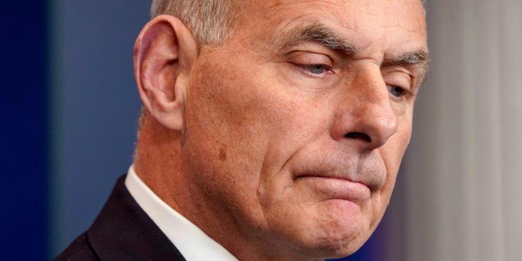 Podría John Kelly renunciar como jefe de gabinete de Donald Trump