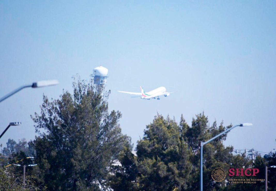 El avión presidencial saldrá de México el próximo lunes dice Jesús Ramírez