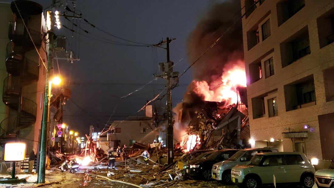 Explosión deja al menos 40 heridos en Japón