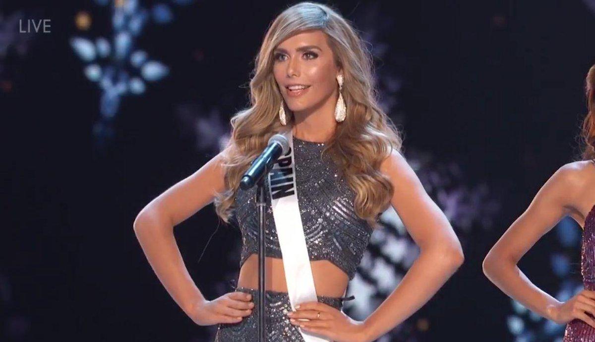 Se rompe el sueño de Ángela Ponce en Miss Universo