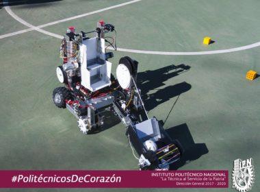 Estudiantes del IPN destacan en robótica