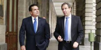 En reunión, busca Silvano delegar responsabilidad de educación a gobierno federal