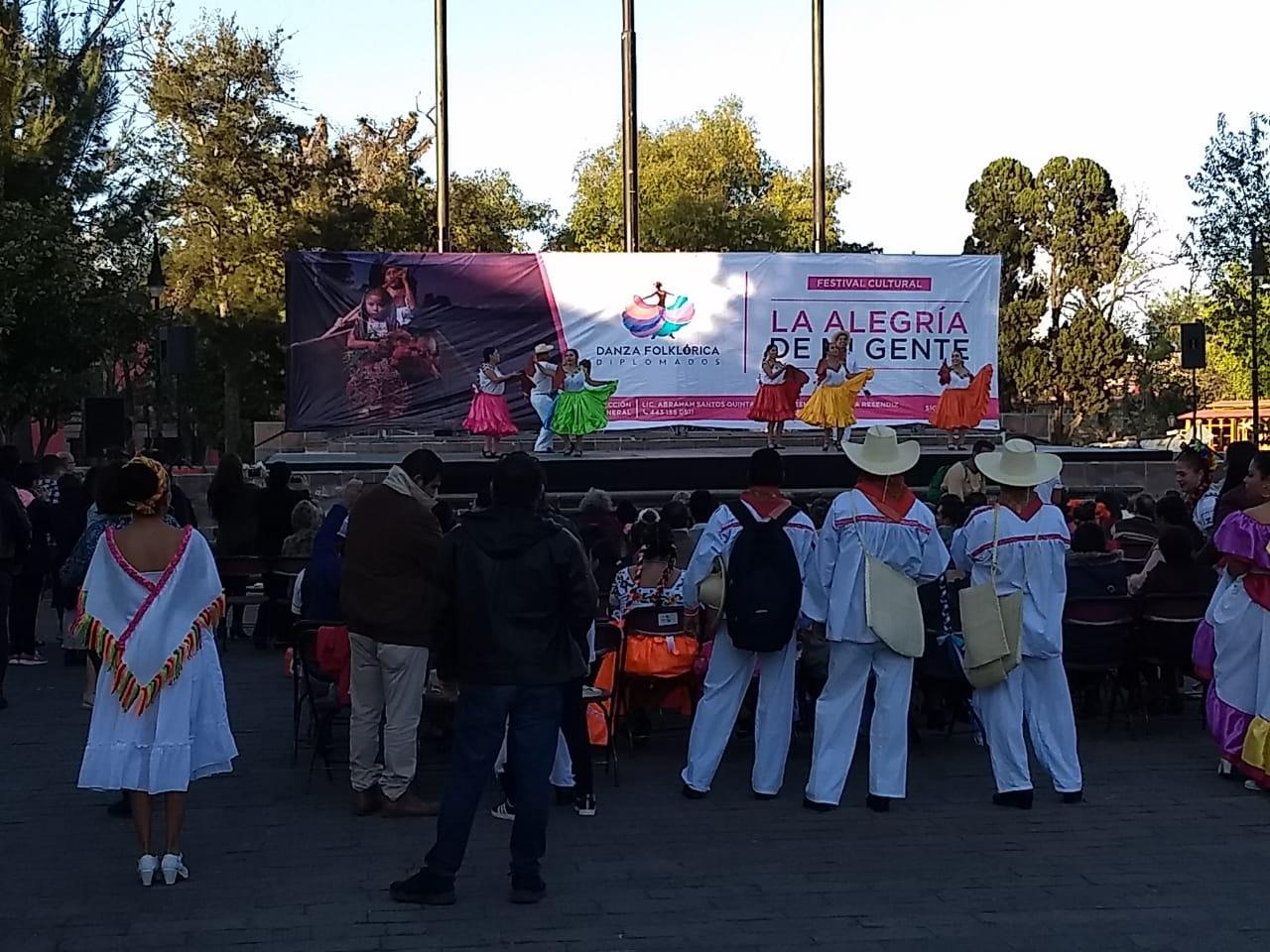 """Festival cultural """"La alegría de mi gente"""", llega a la Plaza Morelos"""