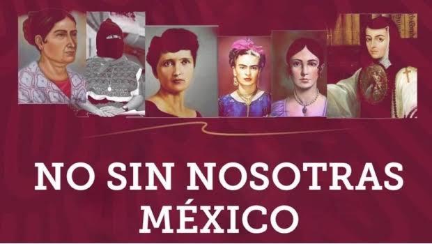 Mujeres reclaman visibilidad en la nueva imagen institucional de López Obrador