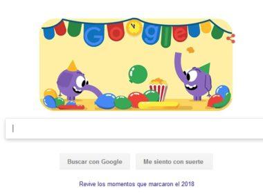 Google se despide del 2018