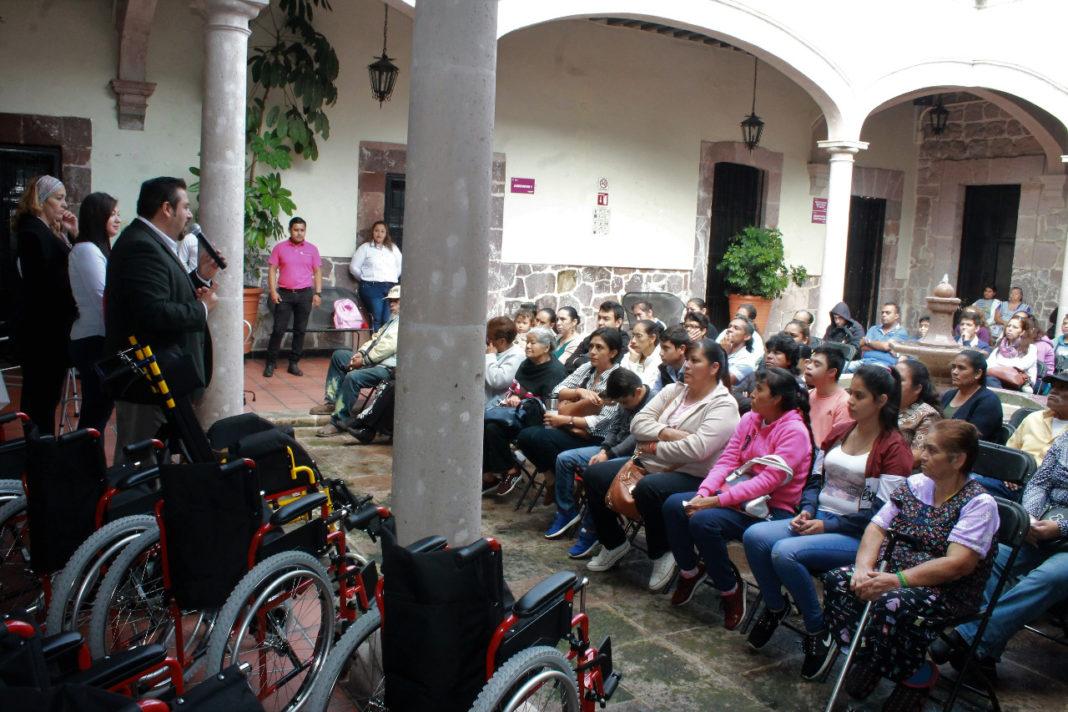 SSM brinda apoyo para inclusión de personas con discapacidad