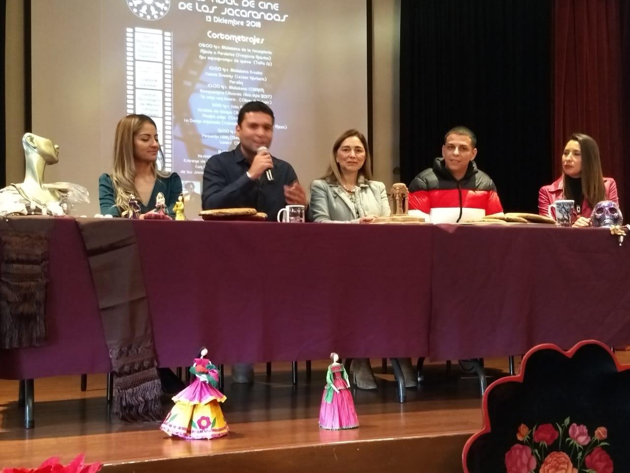 Jiquilpan presentará la primer edición del Festival de Cine de las Jacarandas
