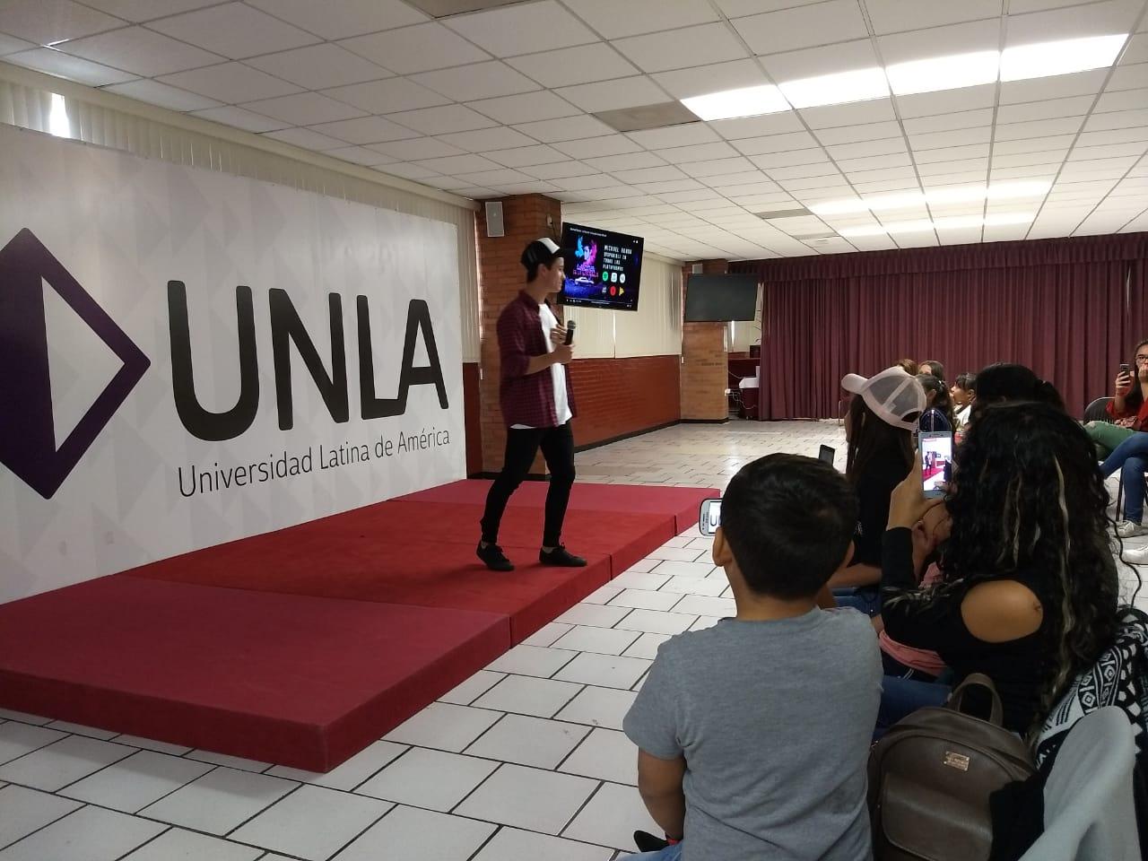UNLA recibe al actor Michael Ronda