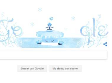 Google le da la bienvenida al invierno
