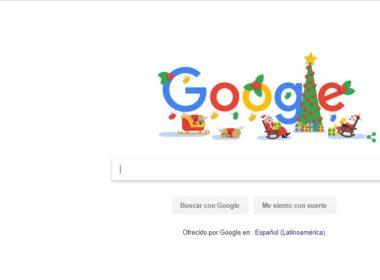 Google celebra Navidad