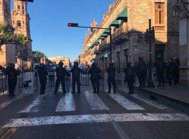 Sitian Palacio Legislativo; peatones no podrán circular