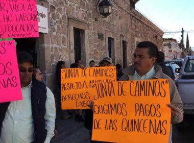 En incertidumbre deja gobierno de Silvano a trabajadores de Junta de Caminos