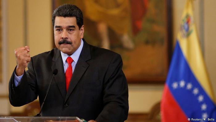 """Acusa EU a Nicolas Maduro de """"narcoterrorismo"""""""