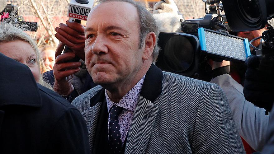 Kevin Spacey obtiene libertad bajo fianza