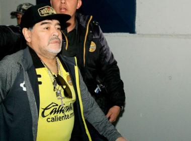 Internan a Diego Armando Maradona
