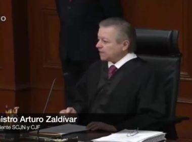Defenderá Arturo Zaldívar autonomía de poder Judicial