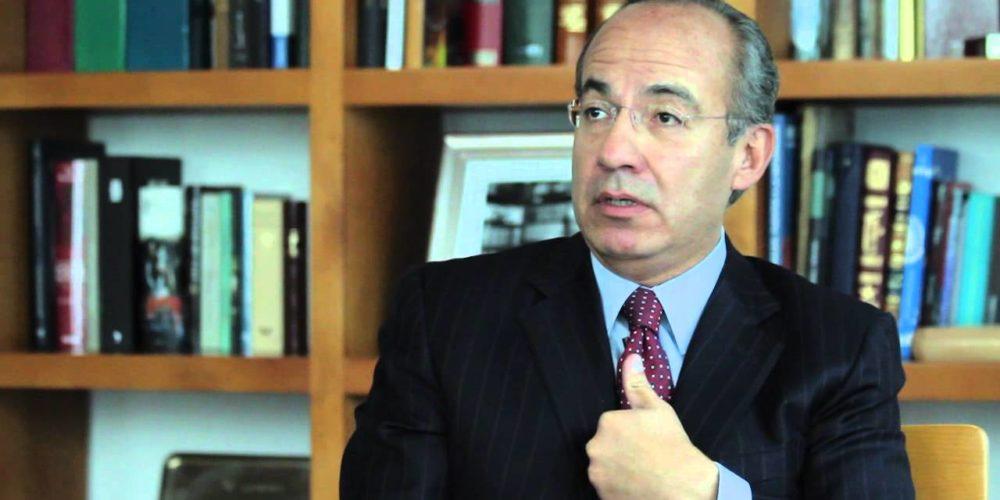Responde Calderón a acusaciones sobre huachicoleo
